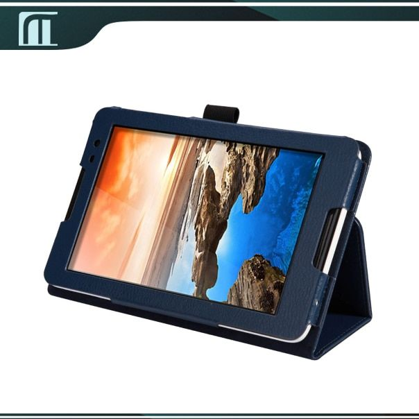 For Lenovo A5500 A8-50 Lenovo IdeaTab A5500 Case PU Leather Cover Flip Stand 8 inch Tablet +Free Screen