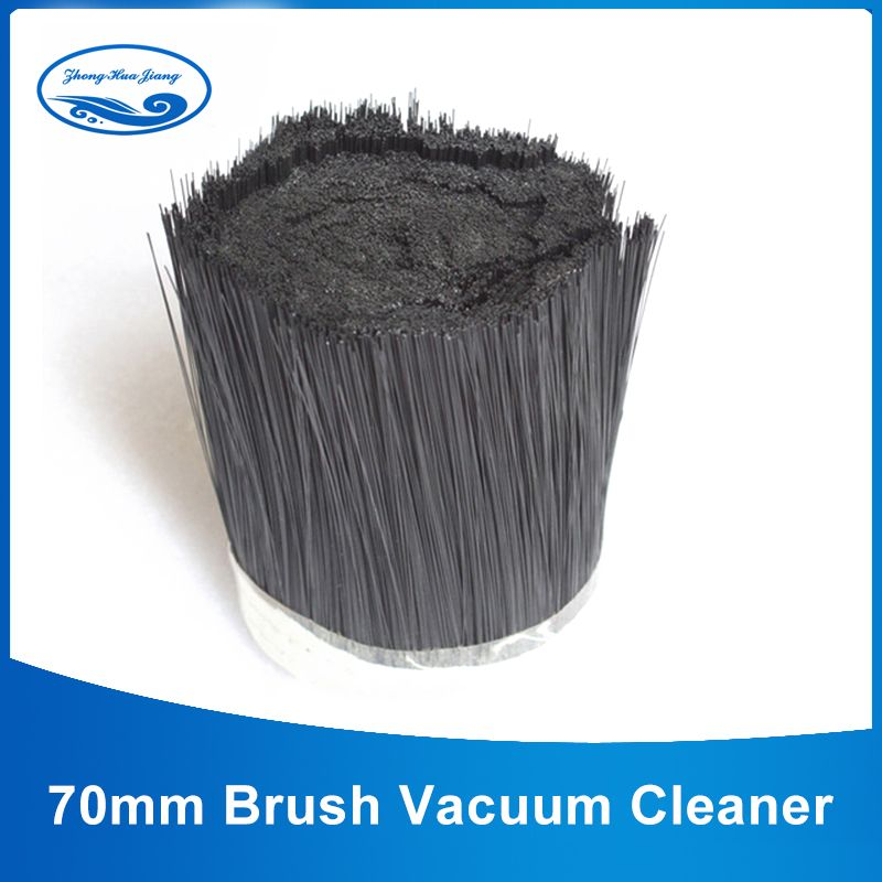 1m 70mm Brush Vacuum Cleaner Engraving machine Dust Cover Spindle fur brush for CNC Router for spindle motor