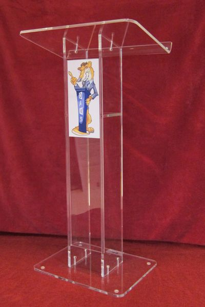 Clear Acrylic Podium lectern pulpit
