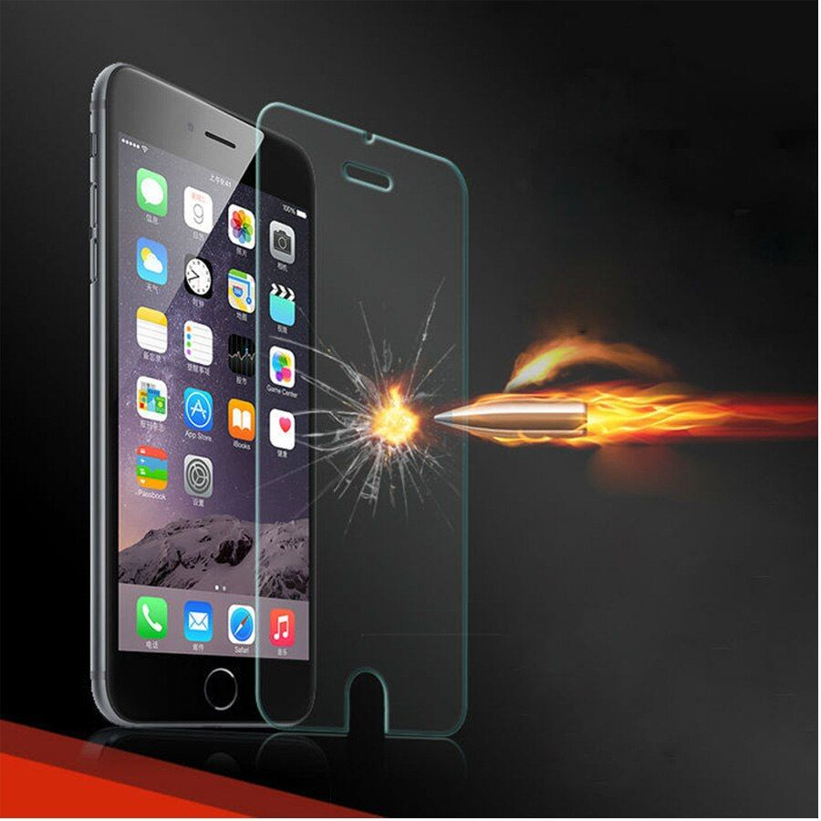 for iPhone 7S Tempered glass for iPhone 6 6S 7 Plus Screen protector glass film for iPhone 5 SE 5C 4S Explosion-proof filmglass