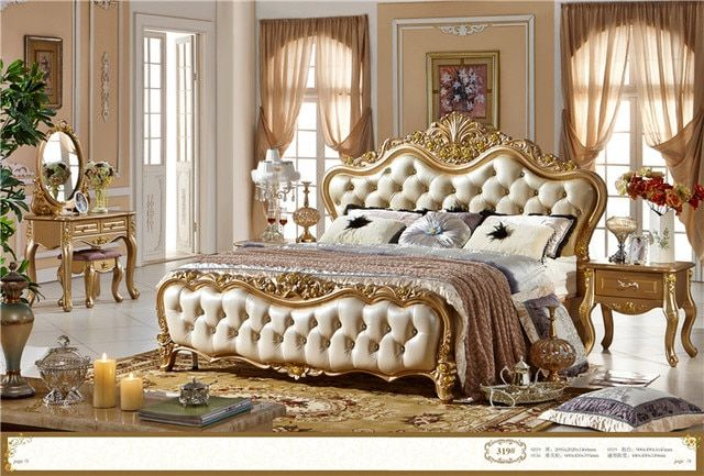 High quality bedroom furniture/luxurary bedroom furniture set