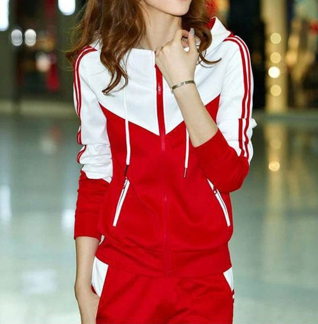 Free shipping New Women's sets thick Hoodies Set  Suit 2 pcs/set  hoodies + pants women sportswear  suits G0538