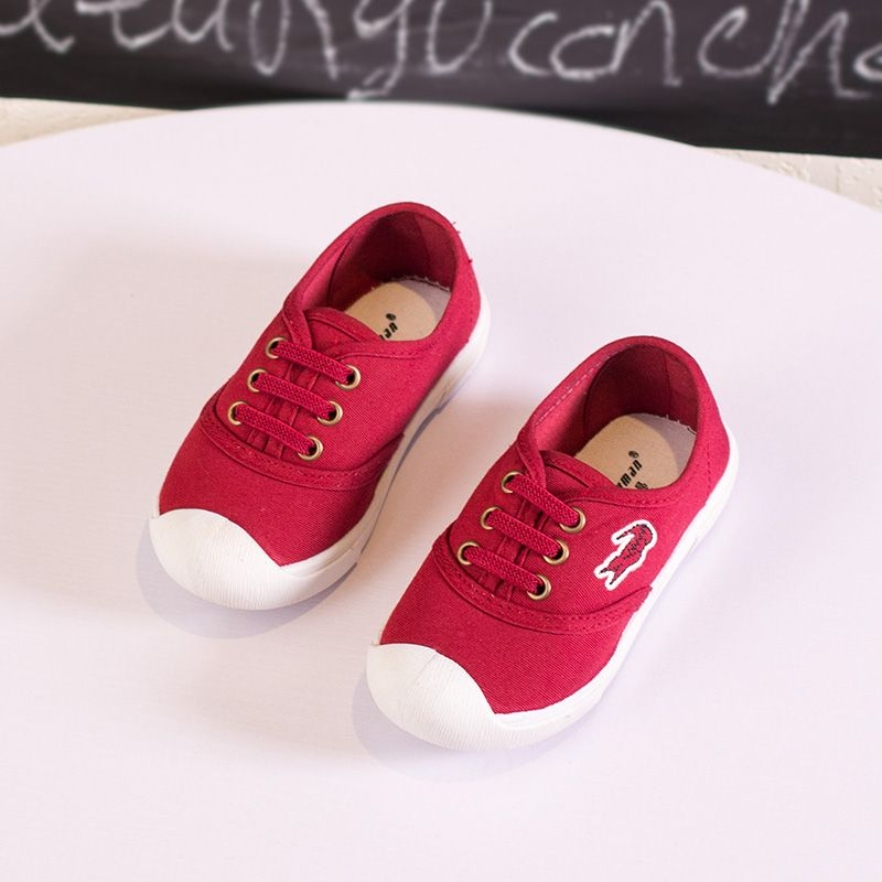 Children Shoes Boys Girls Sneakers New Autumn Casual Flats Solid Kids Shoes Boys Shoes Child Casual Canvas Shoes Size 26-30