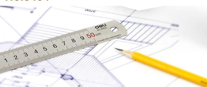 New hot  Deli 8464 ruler 50cm steel ruler thickening stainless drawing  ruler stationery  free shipping