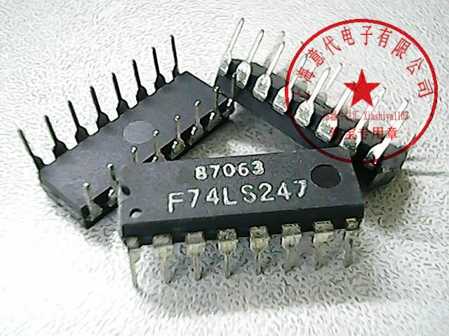 10Pcs F74LS247 74LS247 New