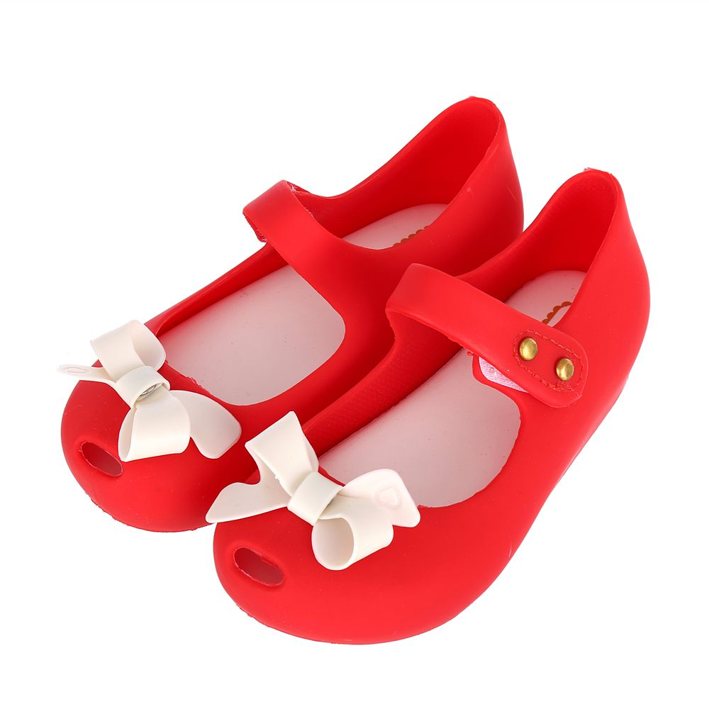 2017 Girl Sandals Big Size Bowknot Jelly Shoes Soft PVC Flat Heels Children Fashion Shoes US size 6-11