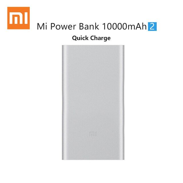 Xiaomi Power Bank 10000mAh Mobile Backup Powerbank 10000 Bateria Externa Universal Charger for iphone samsung xiaomi