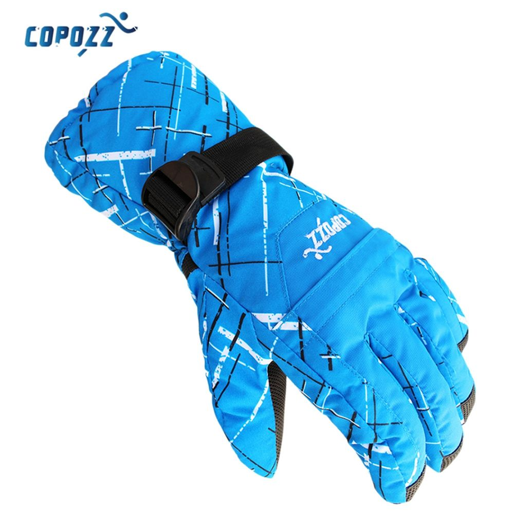 COPOZZ Unisex Super Warm Protection Water Resistant Ski Glove for Outdoor Activity Snowboarding Gloves Ski Gloves Winter