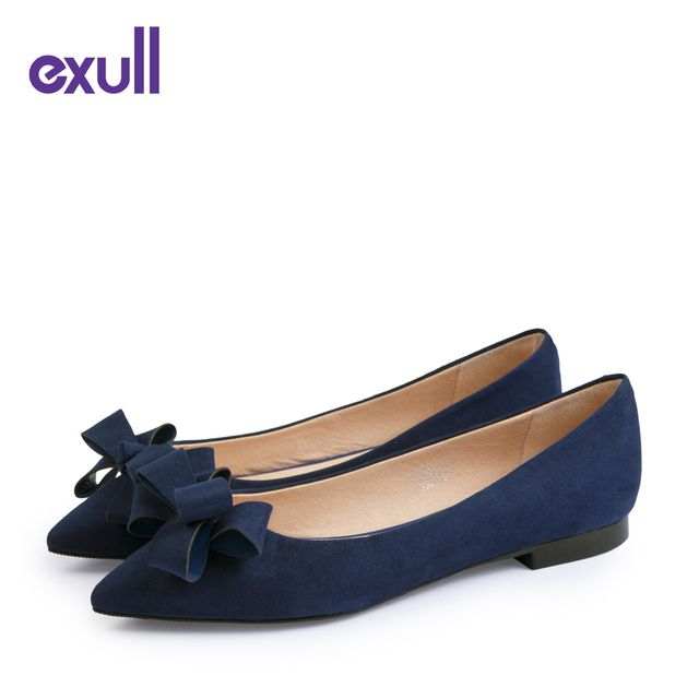 EXULL Brand Elegant Women Shoes Sexy Flat Shoes Women High Quality Oxford Shoes Hot Ladies Flats Zapatos Mujer #16170399