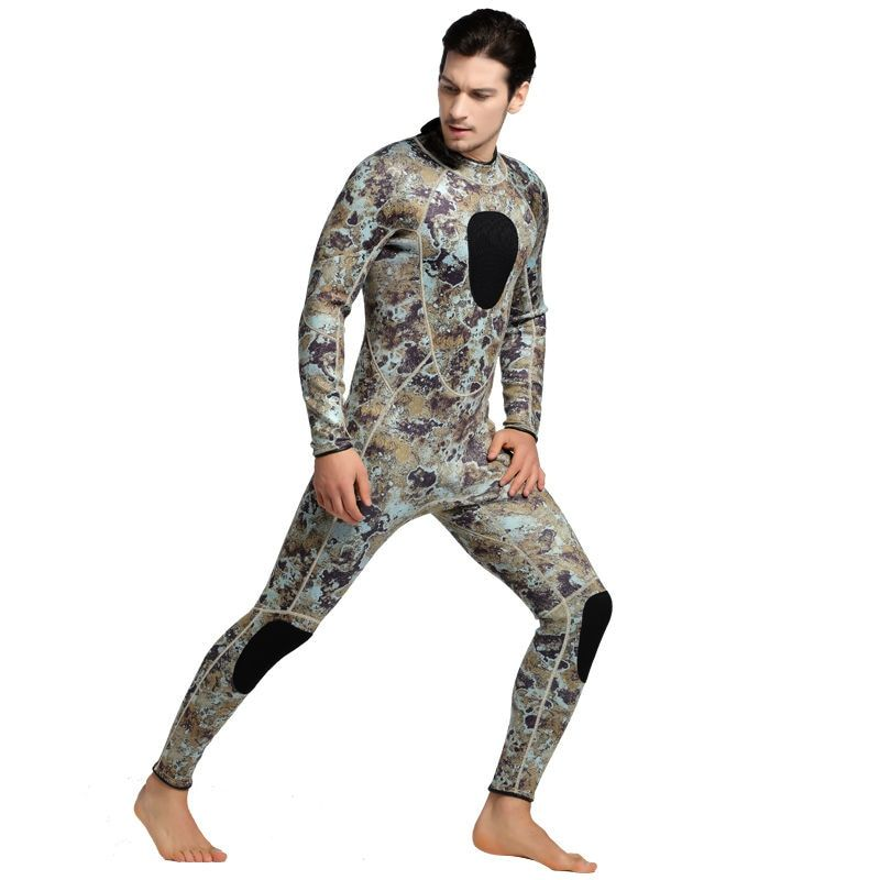 SBART Diving Suit 3MM Neoprene Wetsuit Men Long Sleeve Full Swimwear Keep Warm Winter Water Sports Swim Surfing Wetsuits L1017