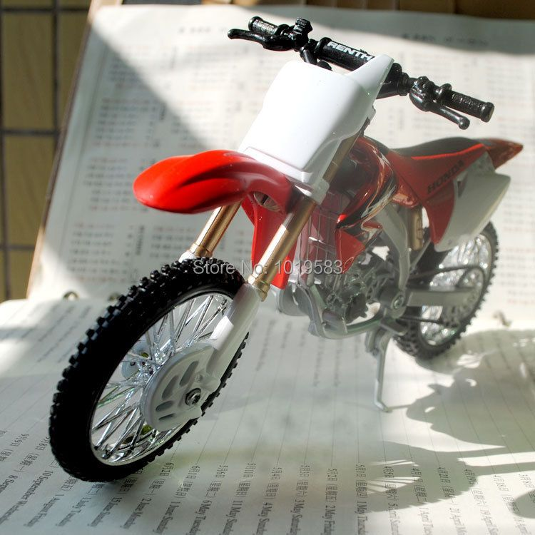 Brand New Cool 1/12 Scale HONDA CRF 450R Motorcycle Diecast Metal Motorbike Model Toy For Gift/Collection/Kids/Children