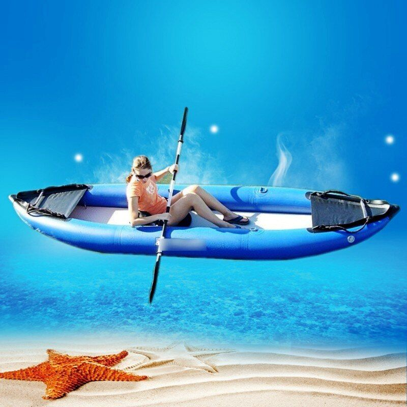 2018 hot sales blue sea kayak fishing for one or two person