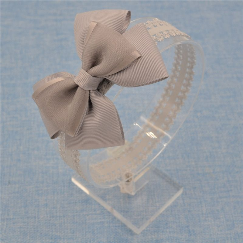 NEW Floral Headband chiffon bowknot bow-tie Flower Hairband Hair Weave Band kids  Accessories  Gifts Organza