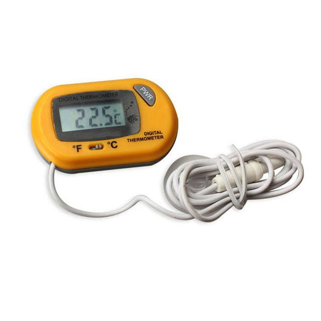 New LCD Digital Aquarium Thermometer with Probe Suction Cup Fish Tank Water Electronic Thermometer Measurement