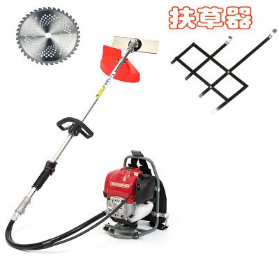 2 in 1 Grass cutter with Honda Gx35 Engine Brush cutter  Multi backpack Brush cutter