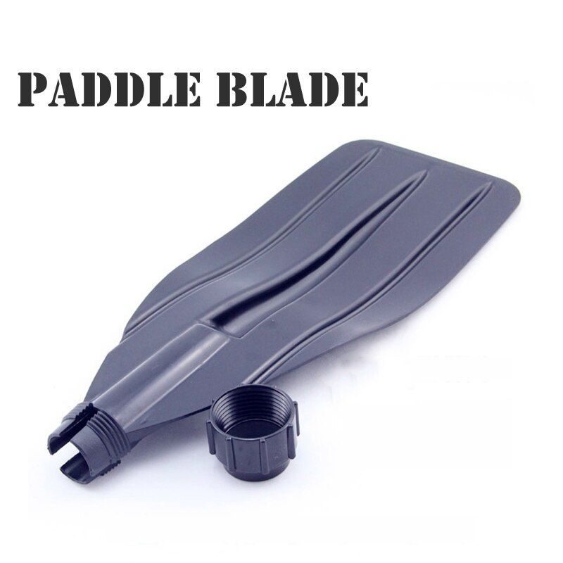 oar paddle blade XP0103 paddle leaf for inflatable boat paddle board kayak canoe black color ABS material C09033