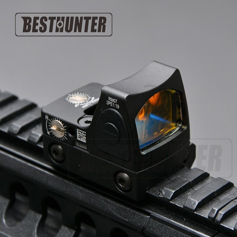 RMR Red Dot Sight Scope Style Glock Reflex Sight Tactical Military Sight For Hunting Rifle Scope
