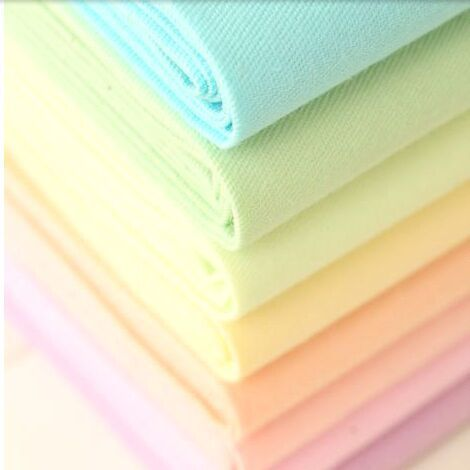 Candy cotton prints slanting stripe macaron solid color bedding cotton 100% cotton cloth clothes handmade diy fabric