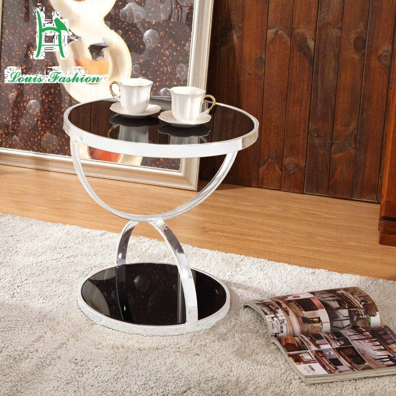 The living room a few high-end angle modern minimalist toughened glass factory direct wholesale merchants tea table