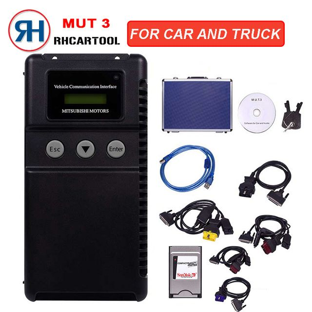 New Diagnostic-tool MUT 3 For Mitsubishi Car and Truck Diagnostic Tool/Mitsubishi MUT-3 MUT3 MUT III scanner Free shipping