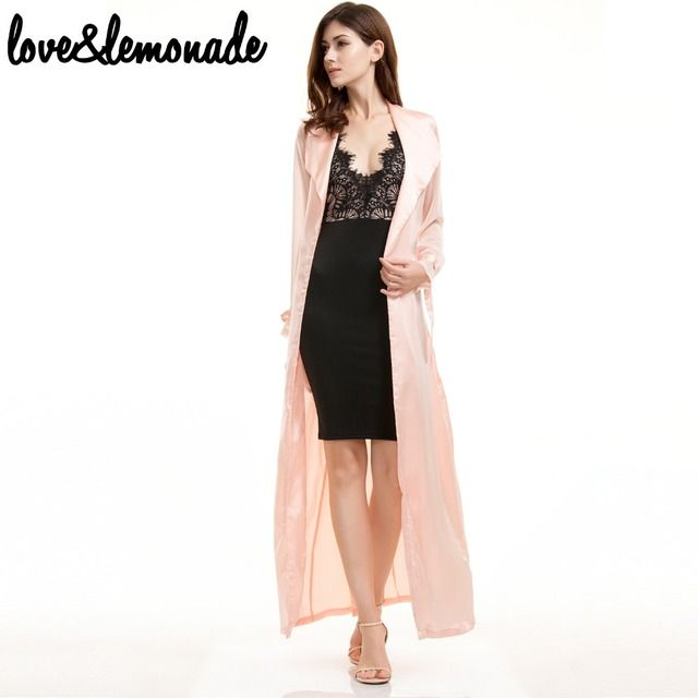 Love&Lemonade  Pink  Chiffon Sleeve Casual Jacket TB 9301