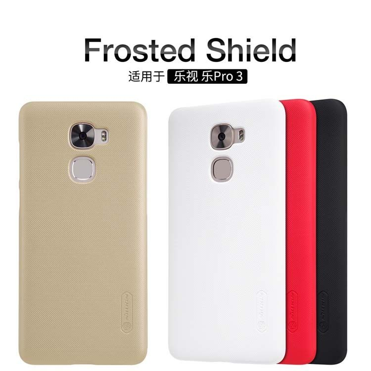 LeEco Le Pro3 Nillkin Super Frosted Shield Case For Letv LeEco Le Pro 3 Plastic Hard Back Cover Case with Free screen protector