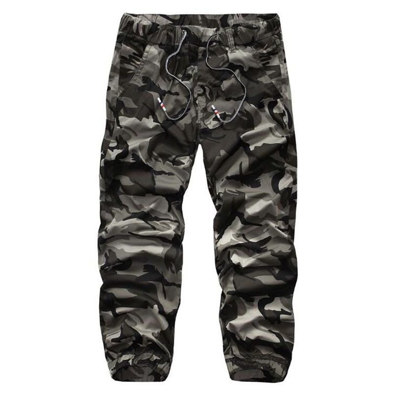 New Autumn High Quality Men'S Cargo Pants Camouflage pants Cotton Trousers For Men Comfortable Casual Long Pants Camo Jogger