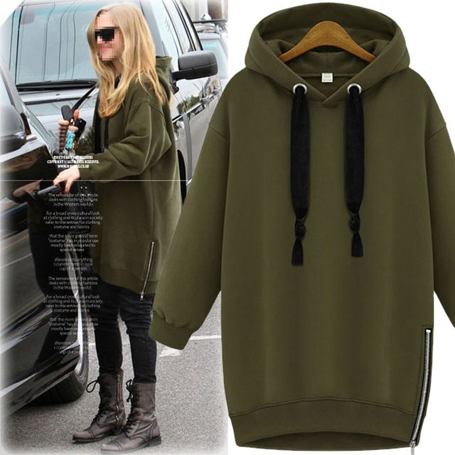 New Women Hoodies Casual Women Long Sleeve V-Neck Hoodies With Hat Women's American Apparel Fashion 100% High Quality Free Ship