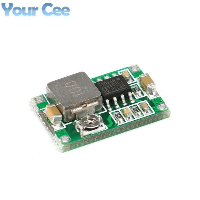 10 pcs RC Airplane Module Mini 360 DC-DC Buck Converter Step Down Module 4.75V-23V to 1V-17V 17x11x3.8mm Mini360 New LM2596
