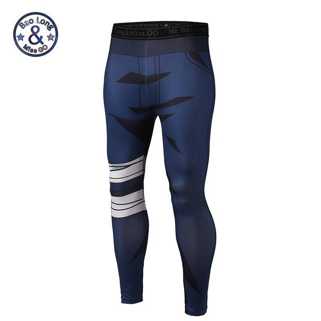 3D Joggers sweatpants pantalon homme compression pants mens compression tights body building compression pants skinny tights