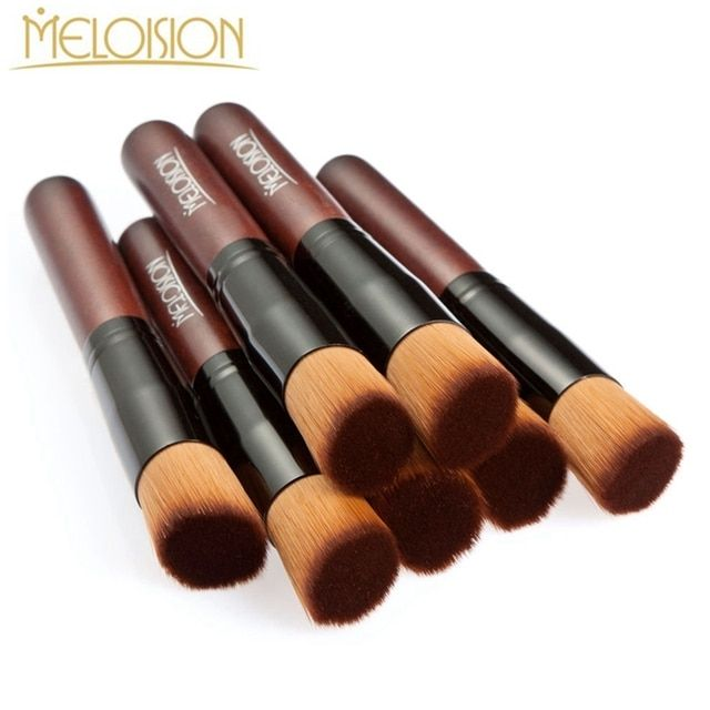 High Quality Professional Foundation Makeup Brushes Maquiagem Women Flat Contour Powder Make Up Brushes Multiple Functions