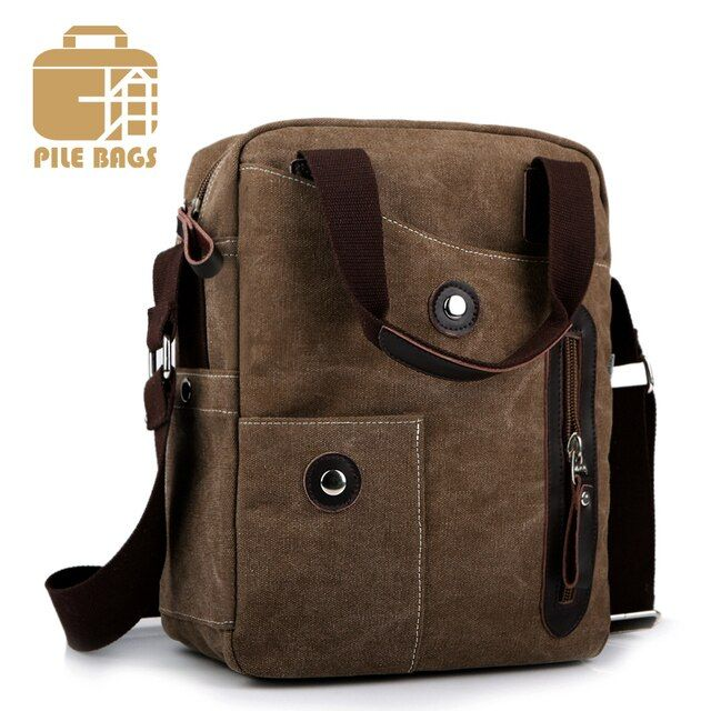 Luxury Brand Mens Bags Shoulder Messenger Bag Men Canvas Business Casual Bag Men's Handbags Designers Satchel Mens Mini Bag