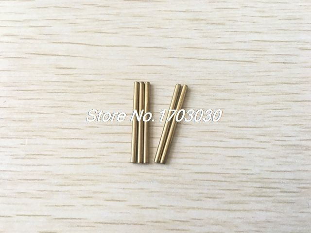 20 Pcs Car Model Toy DIY Brass Rod Axles Drill Rod Bar 2mm x 50mm
