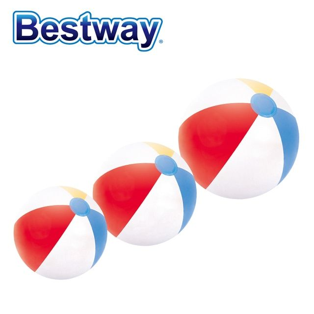 31020 Bestway children beach ball balloon inflatable toys baby infant play water polo sport