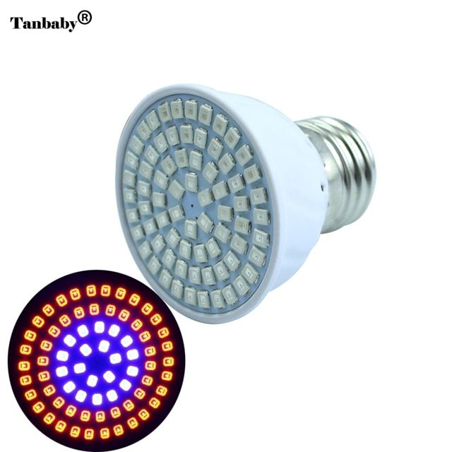 Full Spectrum LED Plant Grow Light E27 36leds 54leds 72leds Led Grow Lamps For Flowering Plant and Hydroponics Outdoor Lighting