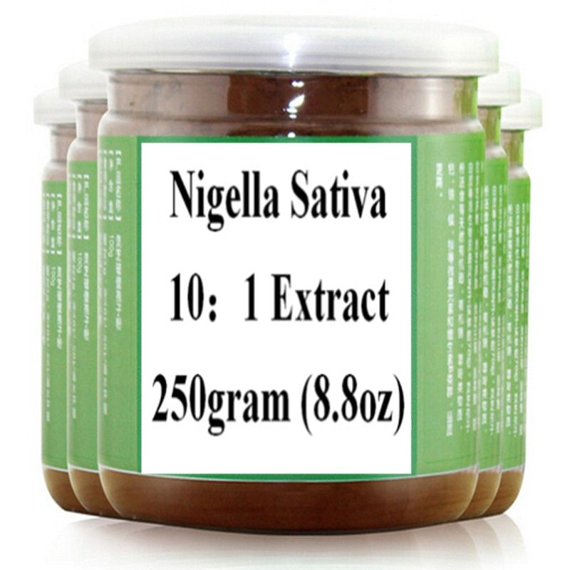 Nigella Sativa 10:1 Extract Powder 250gram free shipping