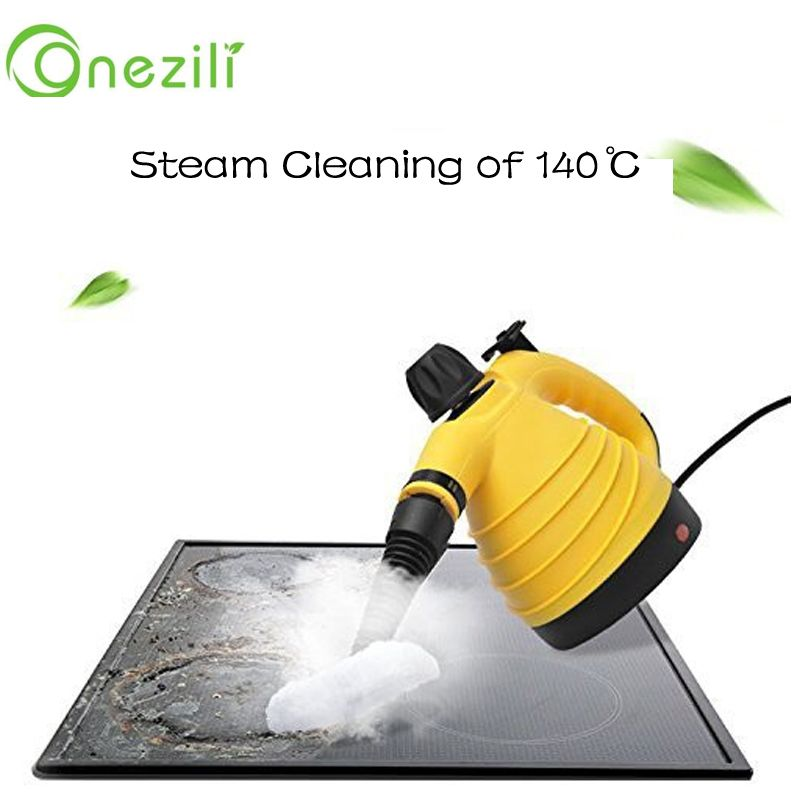 Free Shipping Portable Electric Steam Cleaner Multifunction HTHP Handy Steamer Household Vapor Cleaner 220V For Home and travel