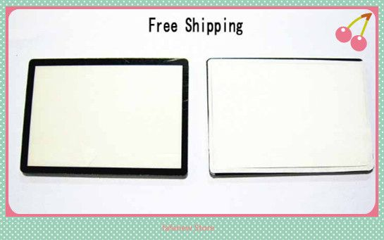 For Canon EOS Rebel XS / 1000D LCD Window outer Glass Screen Display +Tape adhesive
