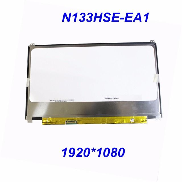 "13.3"" N133HSE-EA1 EA3 EB3 E21 EB2 REV.C1 for CHI MEI 1920x1080 WUXGA FHD IPS Laptop LED LCD Screen for Samsung NP740U3E Series"