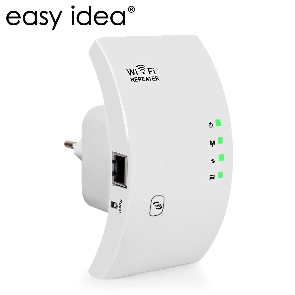 EASYIDEA Wireless WIFI Repeater 300Mbps Wifi Amplifier 2.4G Range Extender 802.11N/B/G Signal Booster Repetidor AP/Repeater Mode