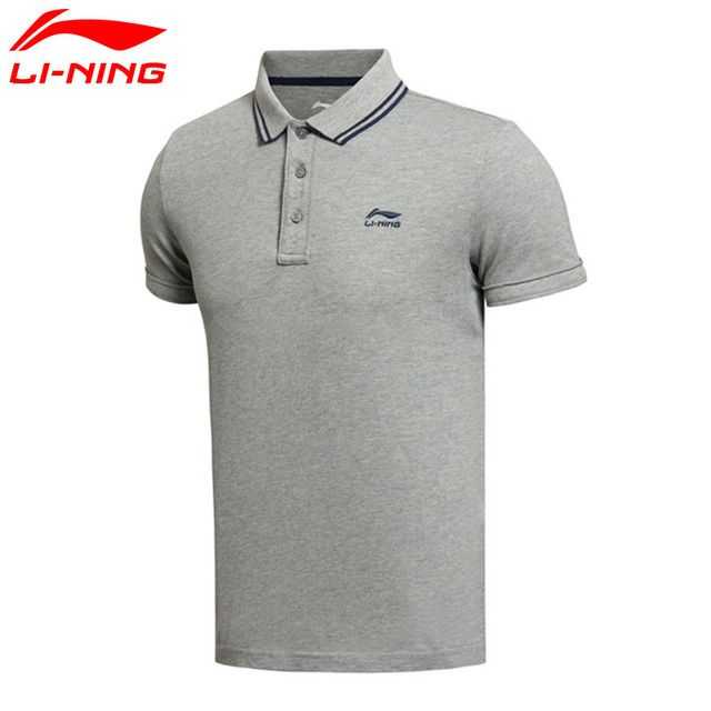 Li-Ning Men's Sports Life Polo T-shirt Short Sleeve Comfort LiNing Sports Tees Top APLK061 MTS2445