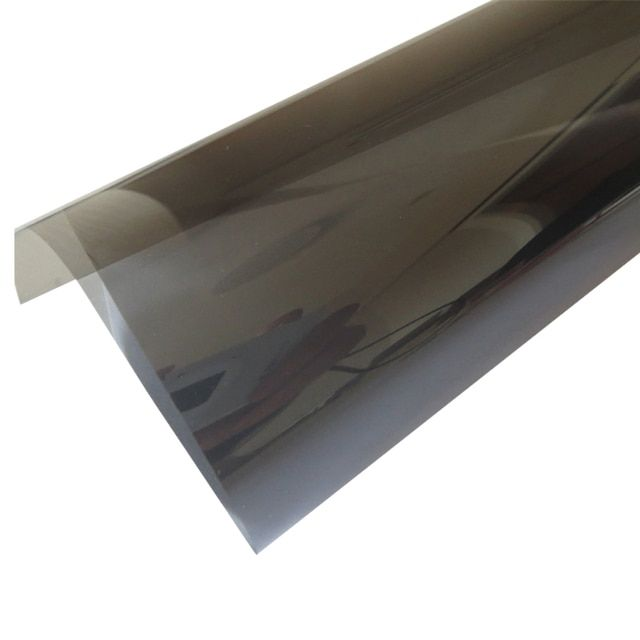 5ftx100ft Grey Nano Film Anti-explosion 96% Thermal Insulation Car Window Tint Film VLT 40% 2 ply Solar Protection Film