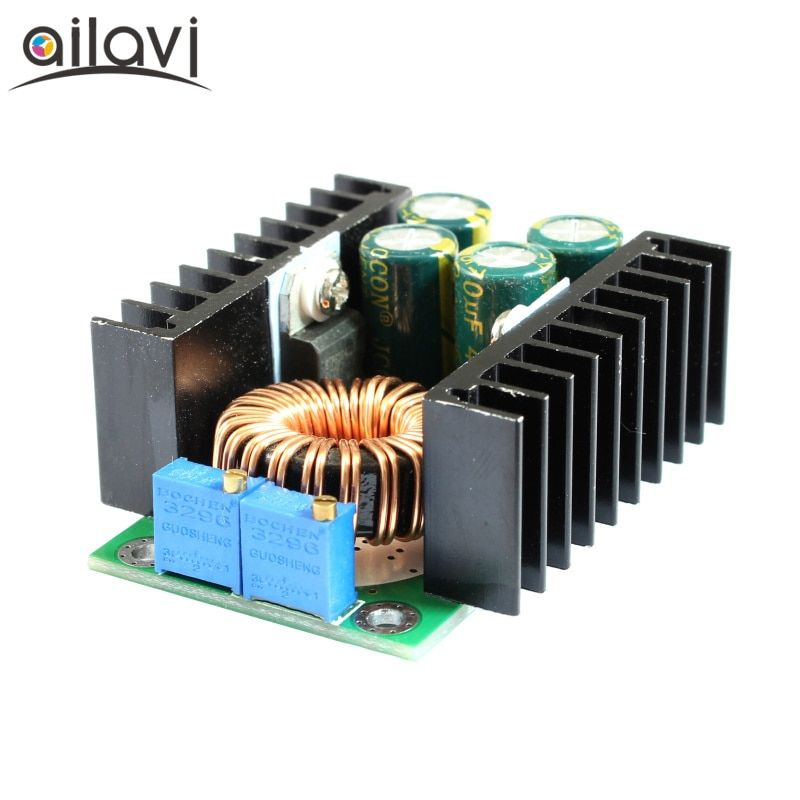 DC-DC CC CV Buck Converter Volt Step Down 12/19/24V Car Laptop Power Supply Module 7-40V  to 2-35V 8A 300W with LED Indicator