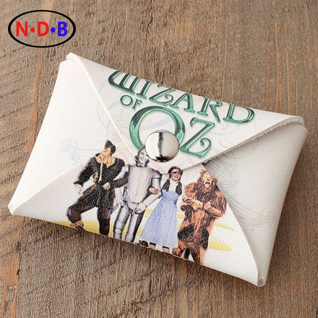 "2017 fashion Trend coin purse ""The wizard of Oz"" card package coin bag"