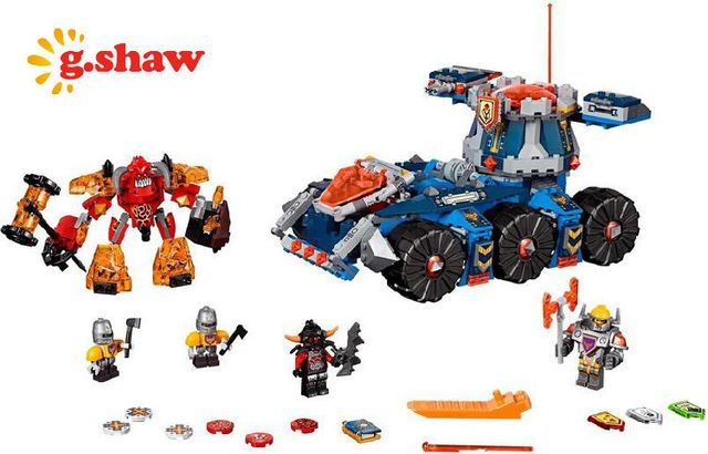 g.shaw bricks toy Building Blocks Compatible with Lego 70322 Axl's Tower Carrier