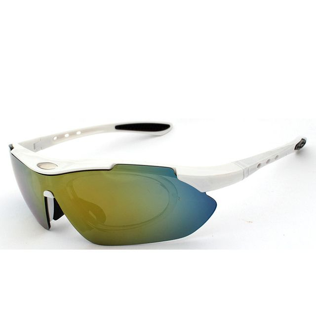 Polarized Cycling Sunglasses Outdoor Sport Windproof eyewear Mountain Bike Motorcycle Sun glass accessories 1 frame 5 lens/lot