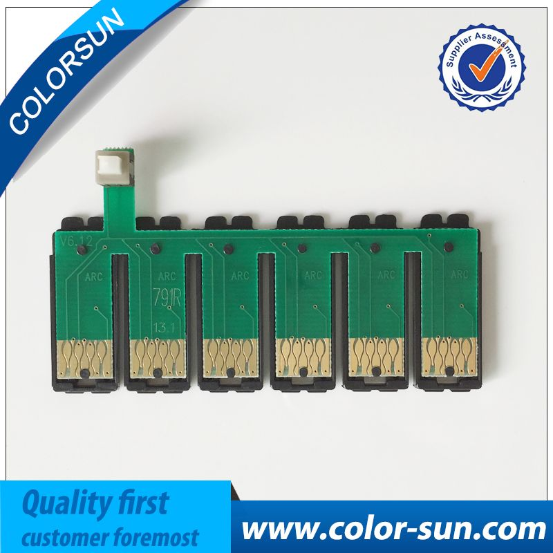 T0791 791 79 auto reset ARC Chip ink cartridge chip for epson R1400 1430 PX700W PX800FW P50 PX830FWD used for ciss