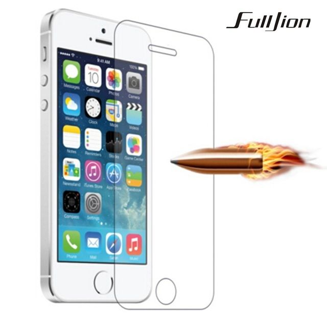 Screen Protector Tempered Glass Film For Apple iphone 6 6S Plus 5 5S 5C SE 4 4S HD Toughened Protective Guard 9H Anti-Scratch