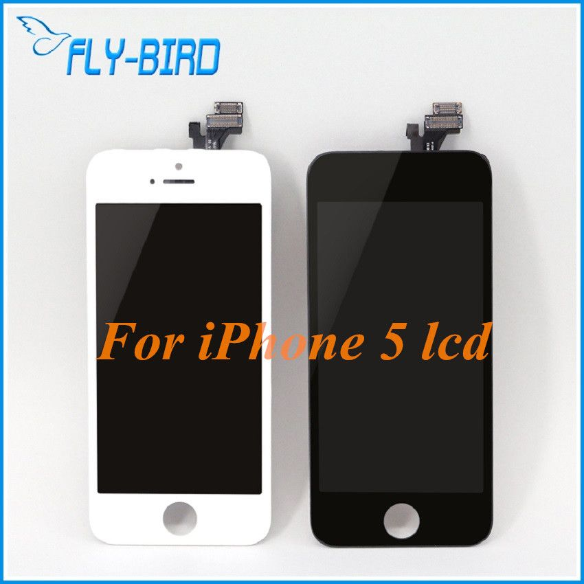10PCS/LOT A++ Lcd For Apple iPhone 5 Touch Screen Display Lcd Assembly With Glass Lcd Digitizer Replacement