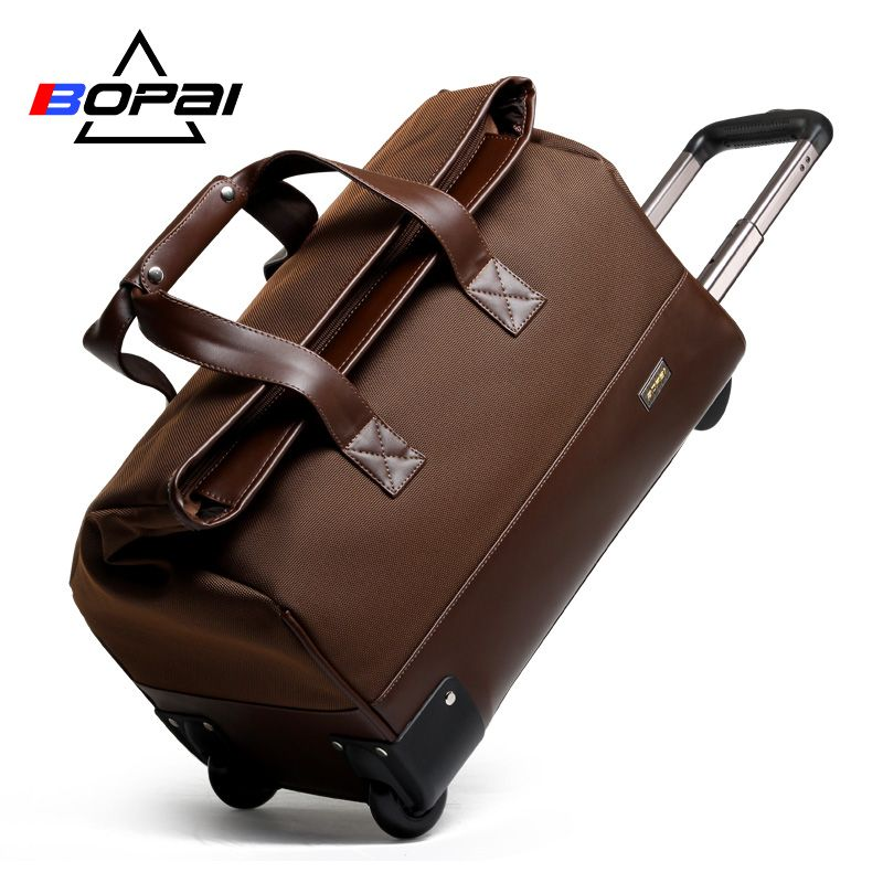 2017 Women Rolling Luggage Men Travel Bags Waterproof Trolley Bags Weekend Duffle Bag Women Travel Bags maletas de viaje women